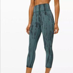 NWT Lululemon tie dye leggings